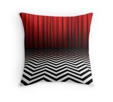 Twin Peaks - Black Lodge Throw Pillow