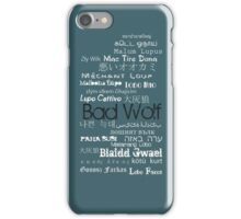 B A D W O L F iPhone Case/Skin