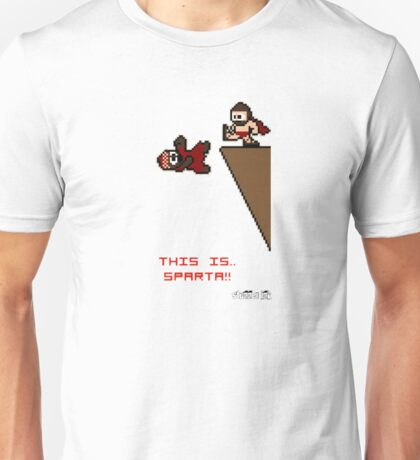 This Is Sparta -8 Bit- Unisex T-Shirt