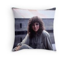 Portrait in Kodachrome KH21 Throw Pillow