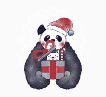 Xmas Panda Gift Baby Tee