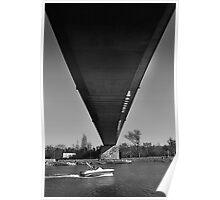 Water under the bridge. Poster