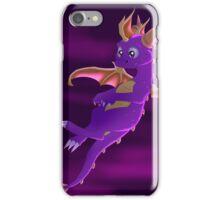 Flying Spyro - normal version iPhone Case/Skin