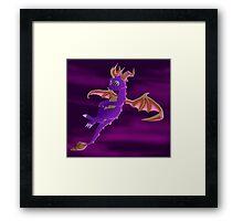 Flying Spyro - normal version Framed Print