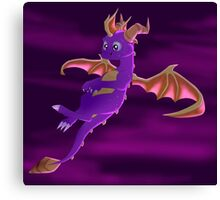 Flying Spyro - normal version Canvas Print