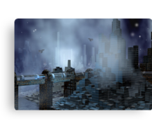 Futuristic City of Tomorrow Canvas Print