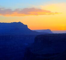 The Grand Canyon Sunrise by Bob Christopher