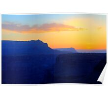 The Grand Canyon Sunrise Poster