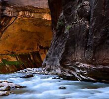 The Narrows Time And The River Flowing by Bob Christopher
