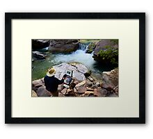The Narrows Quality Time Framed Print