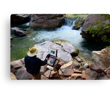 The Narrows Quality Time Canvas Print