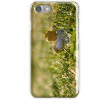 Cuppa In The Grass iPhone Case/Skin