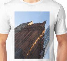 A Slice of Sunshine - Manhattan's Potter Building at Sunrise Unisex T-Shirt