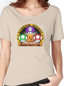 Mushroom Roulette League Women's Relaxed Fit T-Shirt
