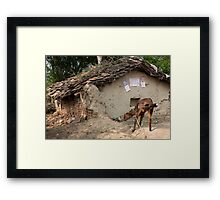 Weathered And Abandoned Framed Print