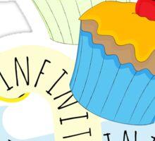 Infinite cake Sticker