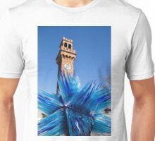 Murano Glass Blues Unisex T-Shirt