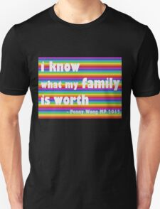 Penny Wong rainbow sticker Unisex T-Shirt