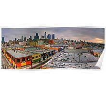 LA Morning Panoramic Poster