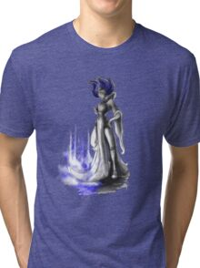 Rainbow Punk: Indigo Assasin Tri-blend T-Shirt