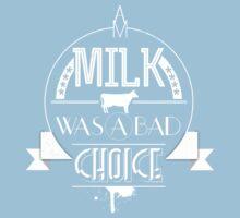 Anchorman - milk was a bad choice Kids Clothes