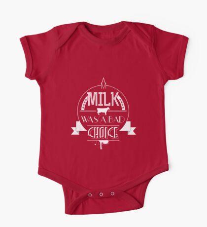 Anchorman - milk was a bad choice One Piece - Short Sleeve