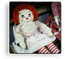 Rag Doll Canvas Print