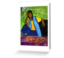 LOVE is My Guiding FORCE Greeting Card