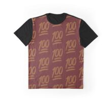100 emoji flame collage Graphic T-Shirt