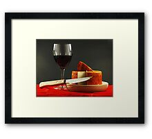 Good Taste Framed Print