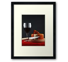 Good Taste in Vertical Format Framed Print