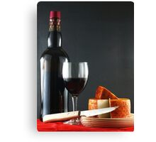 Red with Pepper Cheese Canvas Print