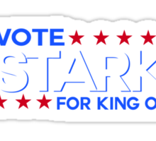 Vote Stark 2012 Sticker