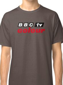 Retro BBC colour logo, as seen at Television Centre Classic T-Shirt