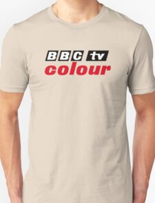 Retro BBC colour logo, as seen at Television Centre Unisex T-Shirt