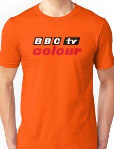 Retro BBC colour logo, as seen at Television Centre Unisex T-Shirt
