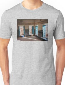 Blue Casbah Window Unisex T-Shirt