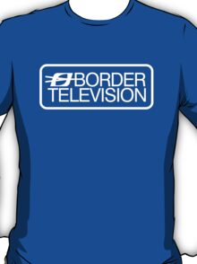 Retro ITV region Border television logo  T-Shirt