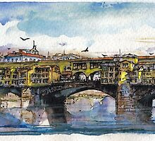 Ponte Vecchio by Randy Sprout