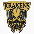 Go Krakens! - STICKER by WinterArtwork