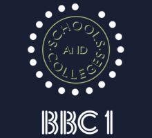BBC Schools & Colleges clock logo T-Shirt