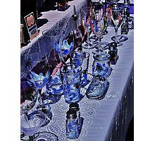 Glassware Photographic Print