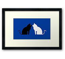 Black Cat, White Cat - Movie Framed Print