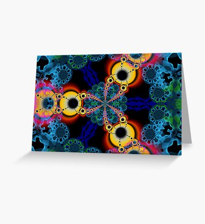 Newton Spirograph1 Greeting Card