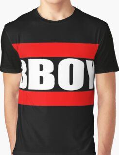 BBOY - Clear Background Graphic T-Shirt