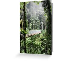 A bridge to Gondwanaland Greeting Card