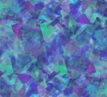 Iridescent Fragments Sticker