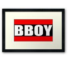 BBOY Framed Print