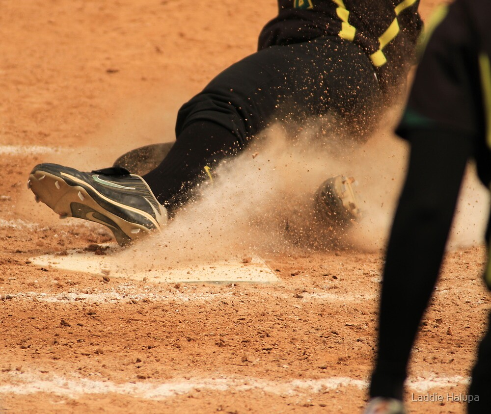 Coming Home with a slide by Laddie Halupa