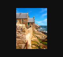Anstruther Coastline with Baptist Church T-Shirt